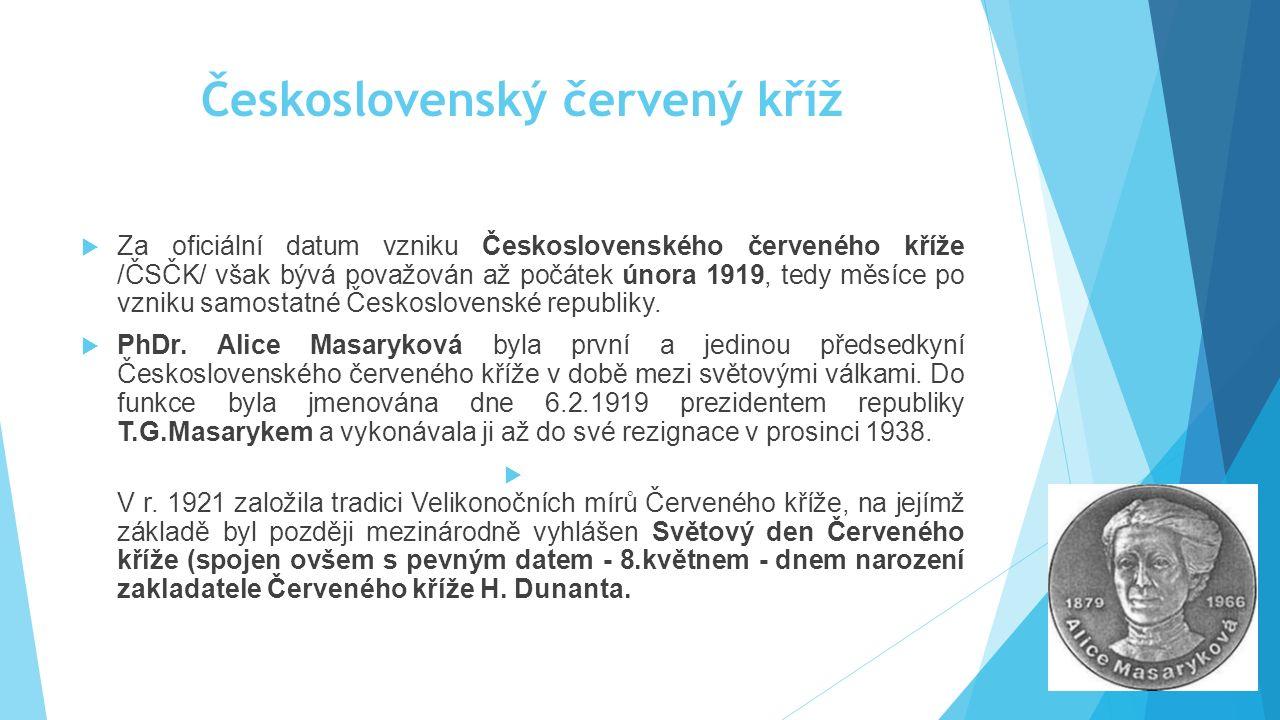 Československý červený kříž