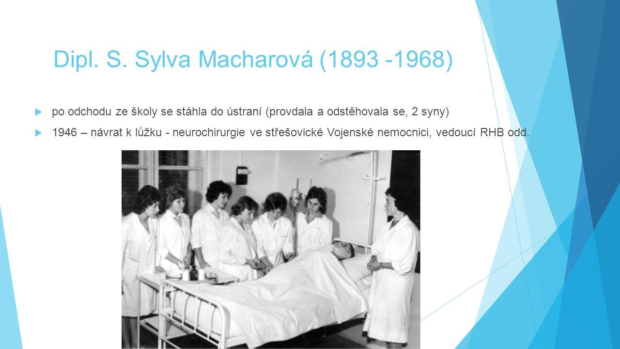 Dipl. S. Sylva Macharová (1893 -1968)