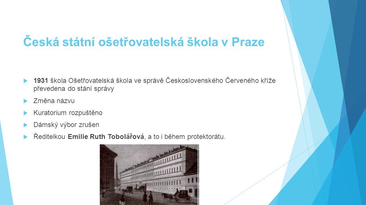 Česká státní ošetřovatelská škola v Praze