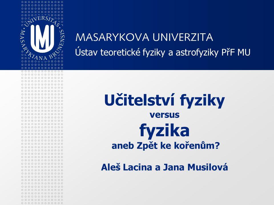 Ústav teoretické fyziky a astrofyziky PřF MU