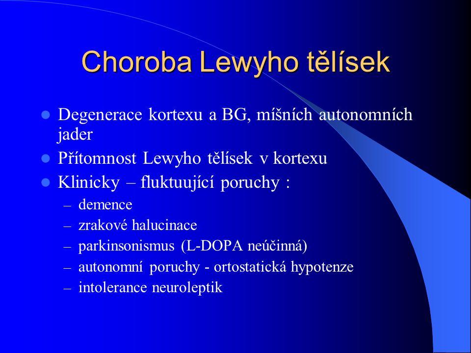Choroba Lewyho tělísek