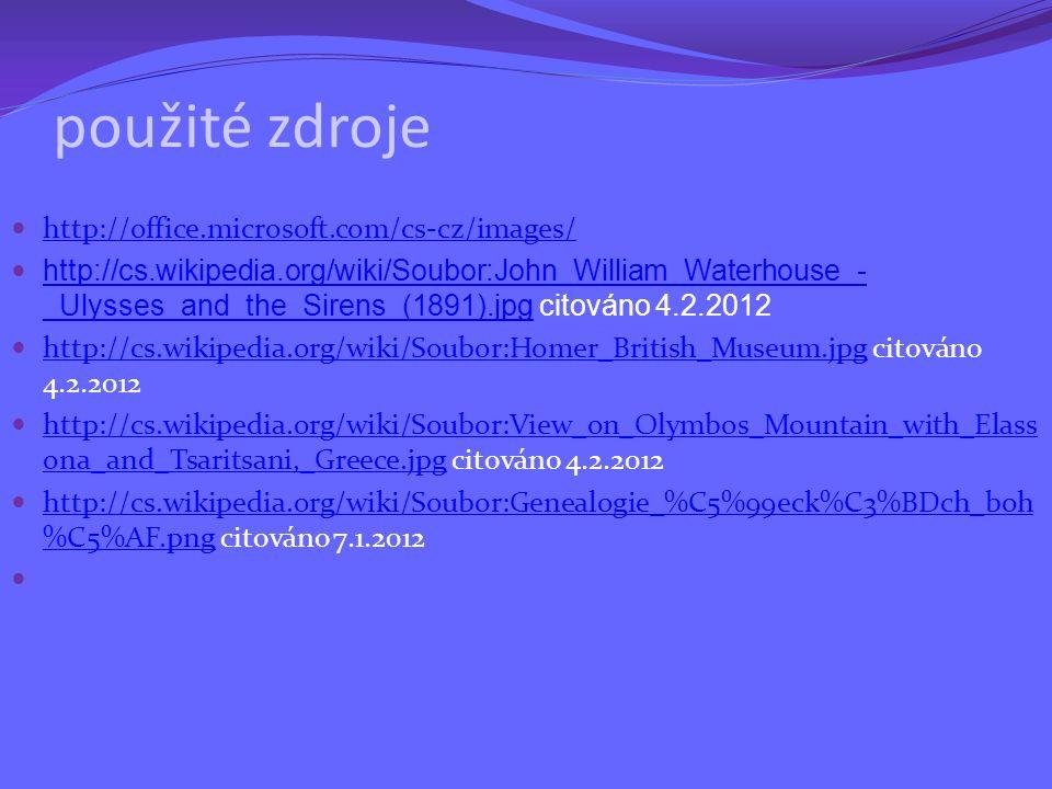 použité zdroje http://office.microsoft.com/cs-cz/images/