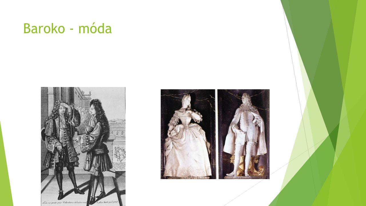 Baroko - móda