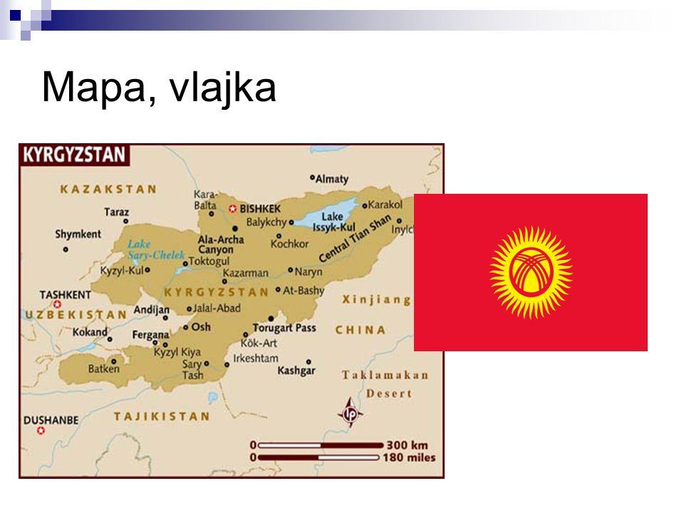 Mapa, vlajka