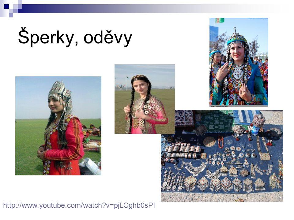 Šperky, oděvy http://www.youtube.com/watch v=pjLCghb0sPI