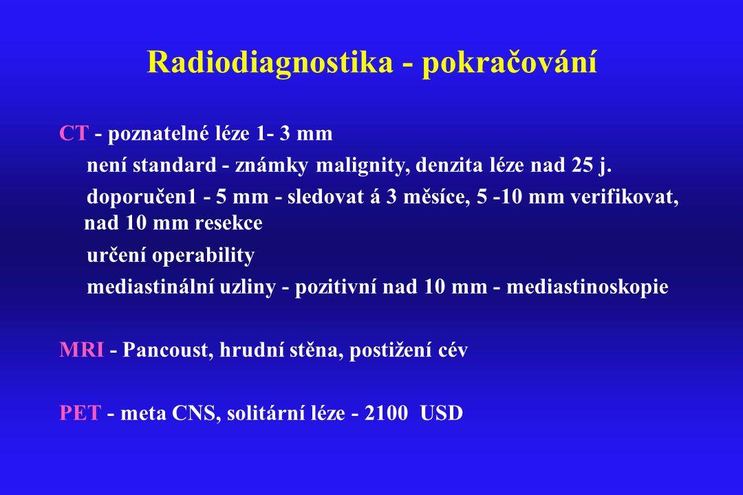 Radiodiagnostika - pokračování