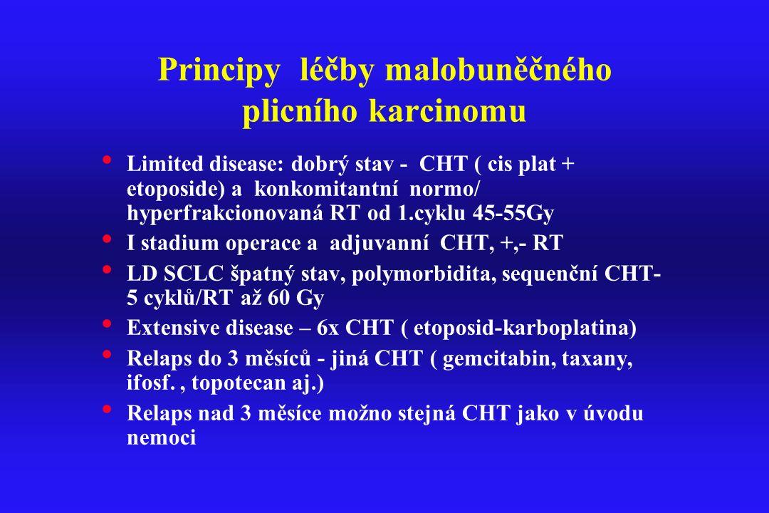 Principy léčby malobuněčného plicního karcinomu