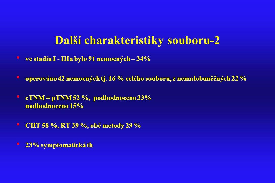 Další charakteristiky souboru-2