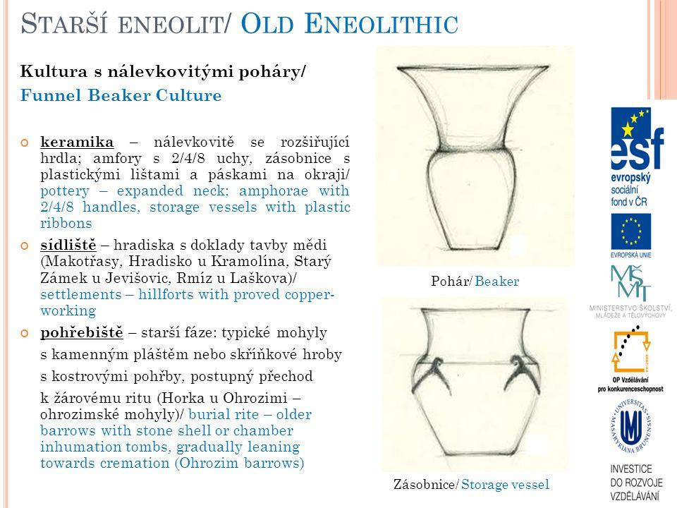 Starší eneolit/ Old Eneolithic