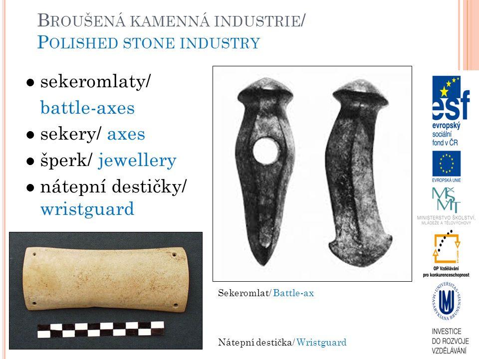 Broušená kamenná industrie/ Polished stone industry