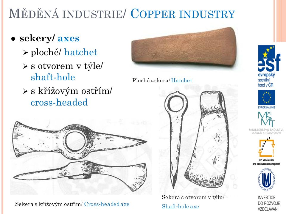 Měděná industrie/ Copper industry