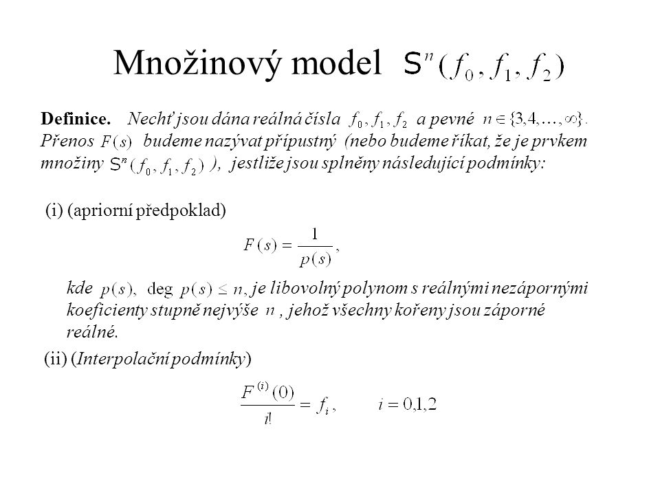 Množinový model