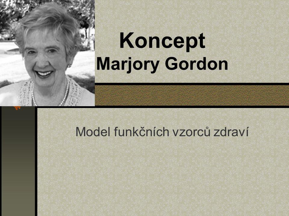 Koncept Marjory Gordon