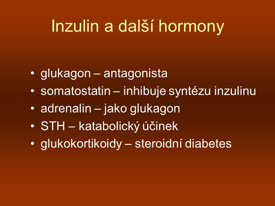 Inzulin a další hormony