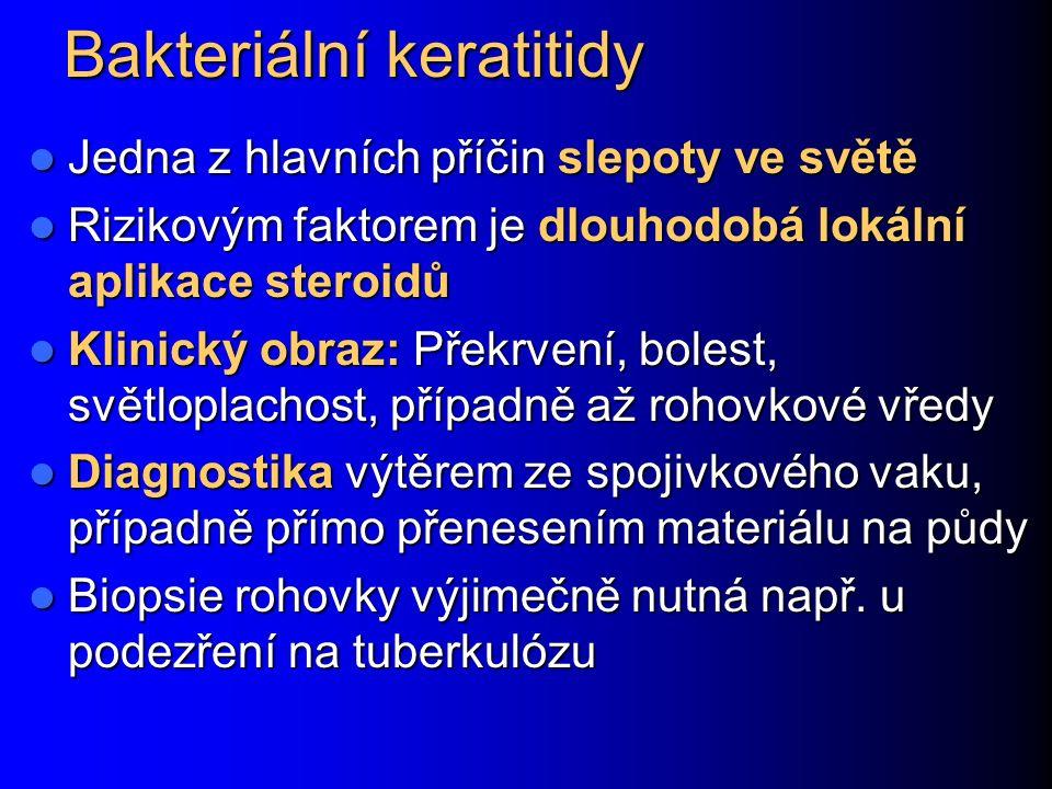Bakteriální keratitidy
