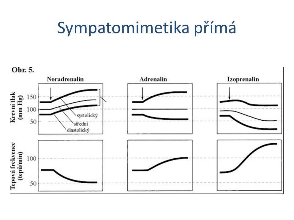 Sympatomimetika přímá
