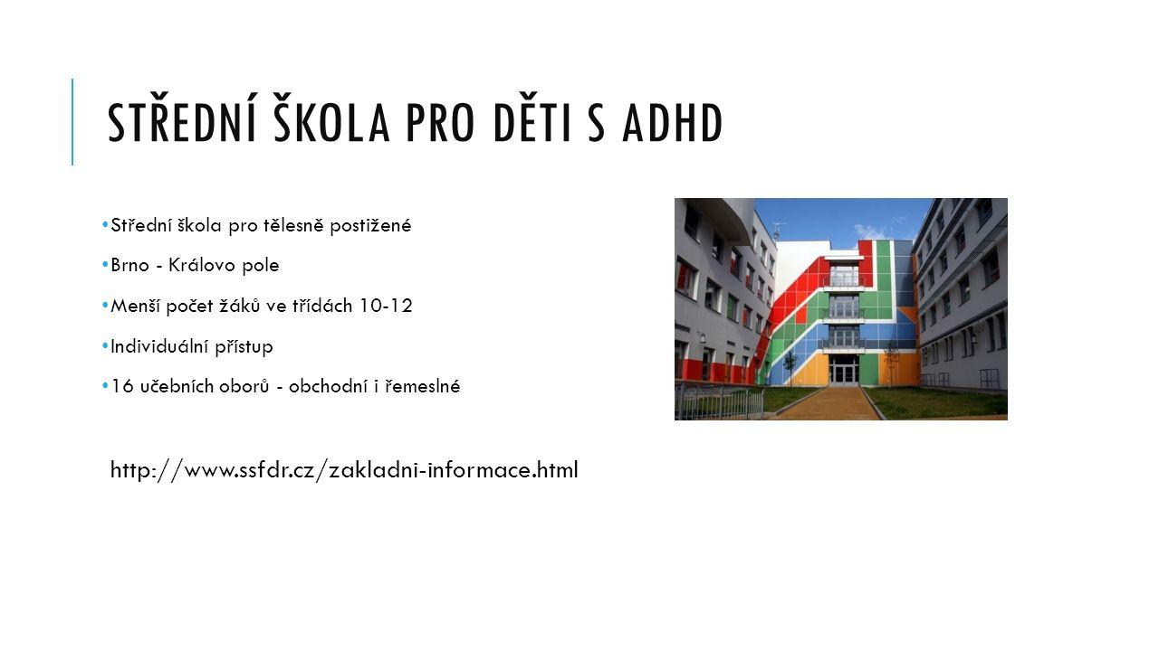 Střední škola pro děti s ADHD