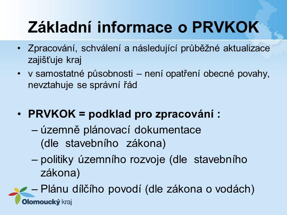 Základní informace o PRVKOK