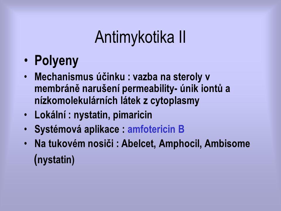 Antimykotika II Polyeny