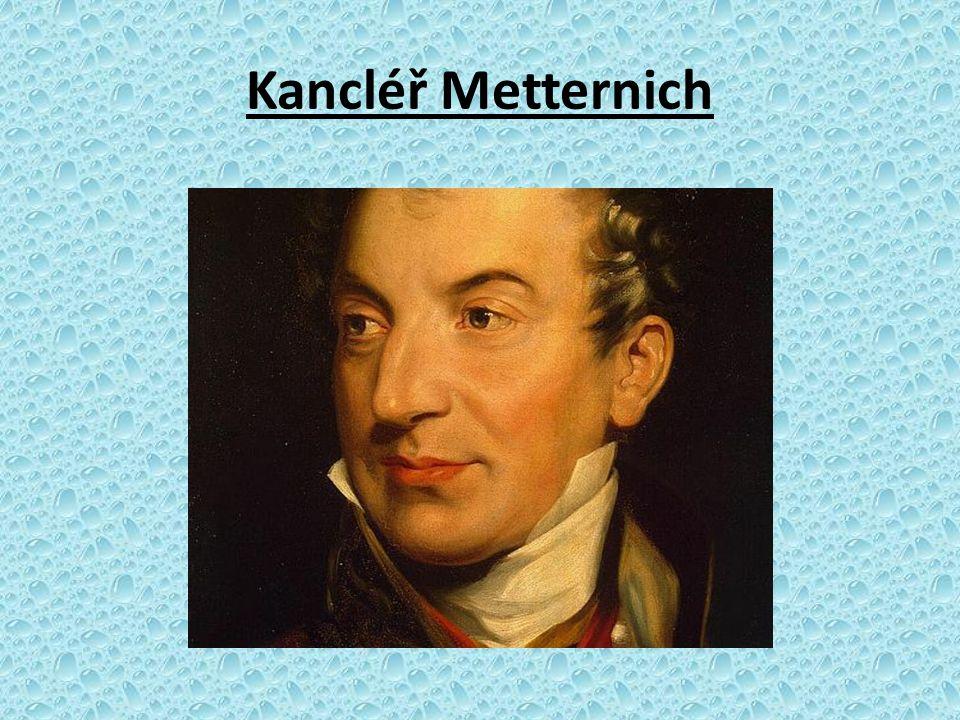 Kancléř Metternich Obrázek číslo 1