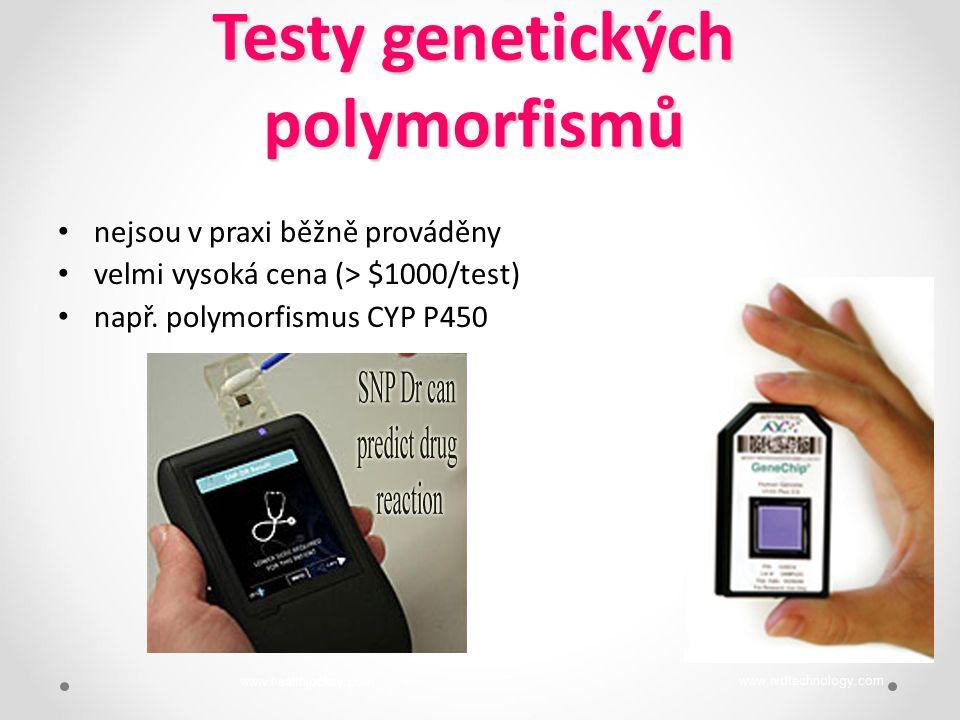 Testy genetických polymorfismů