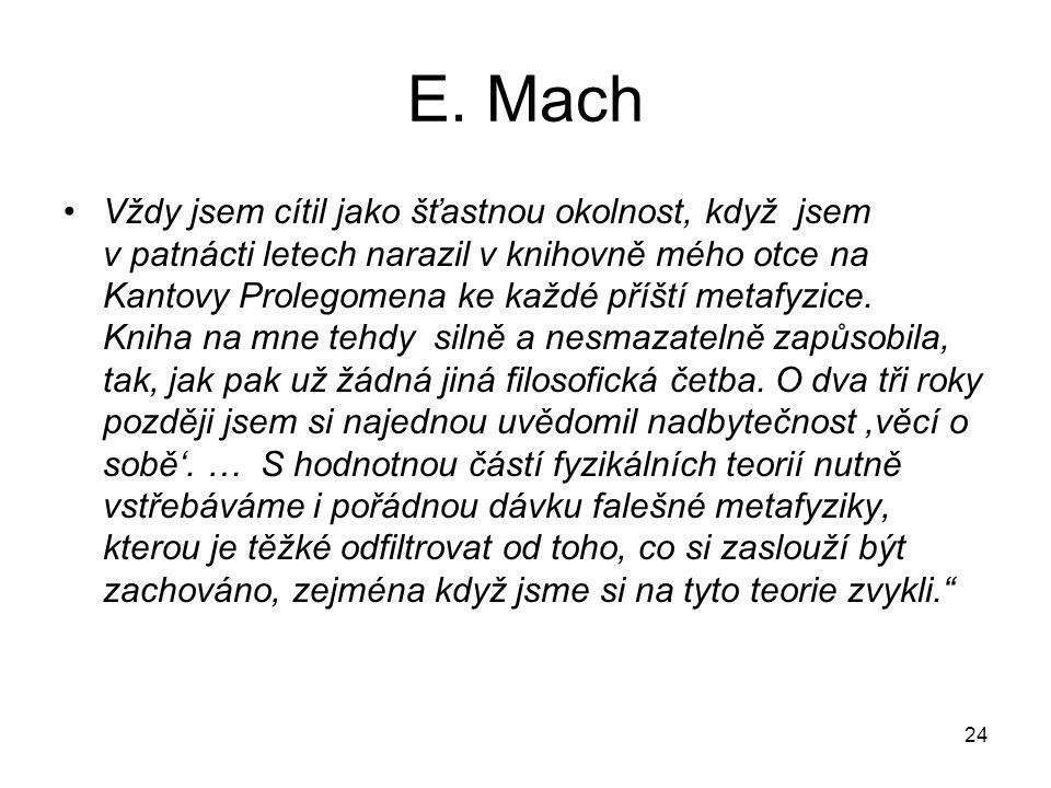 E. Mach