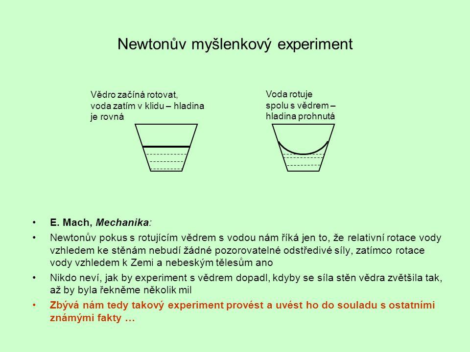 Newtonův myšlenkový experiment