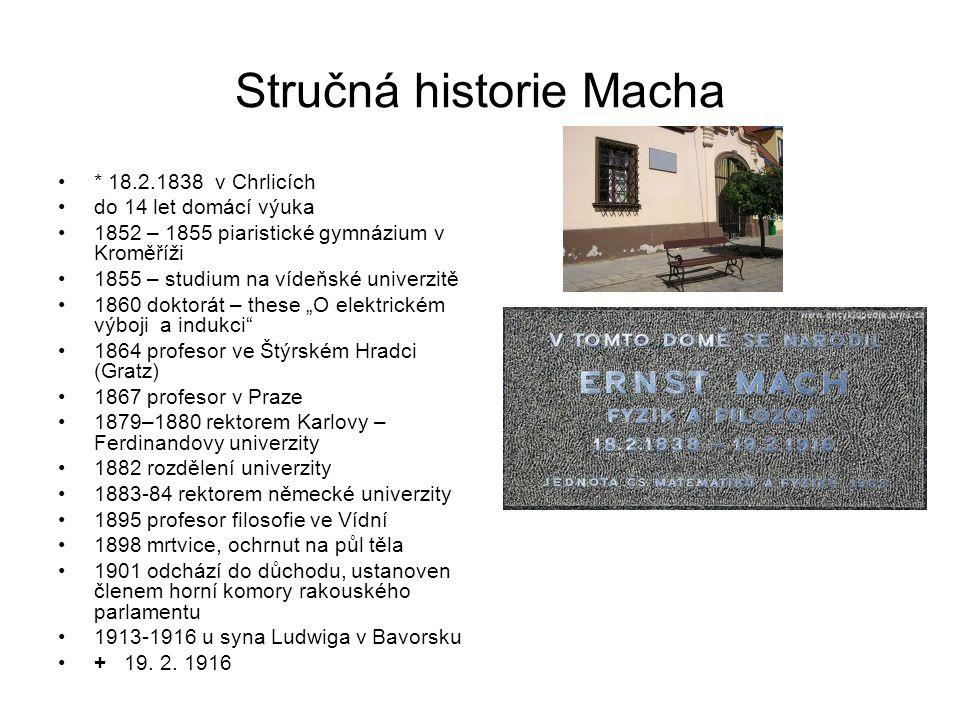 Stručná historie Macha