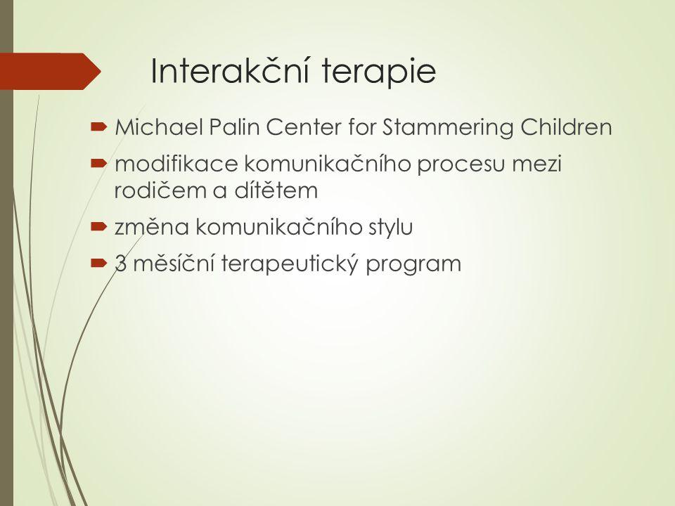 Interakční terapie Michael Palin Center for Stammering Children