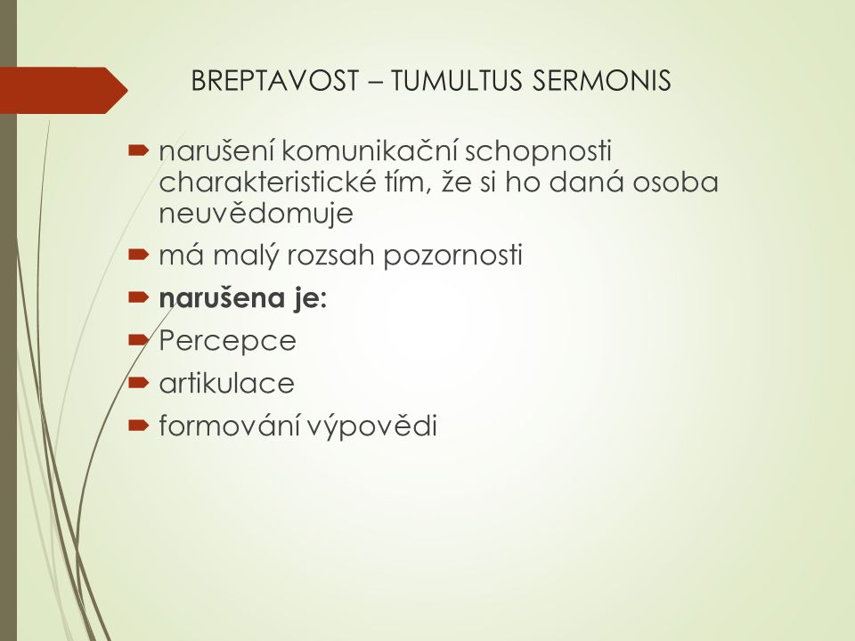 BREPTAVOST – TUMULTUS SERMONIS
