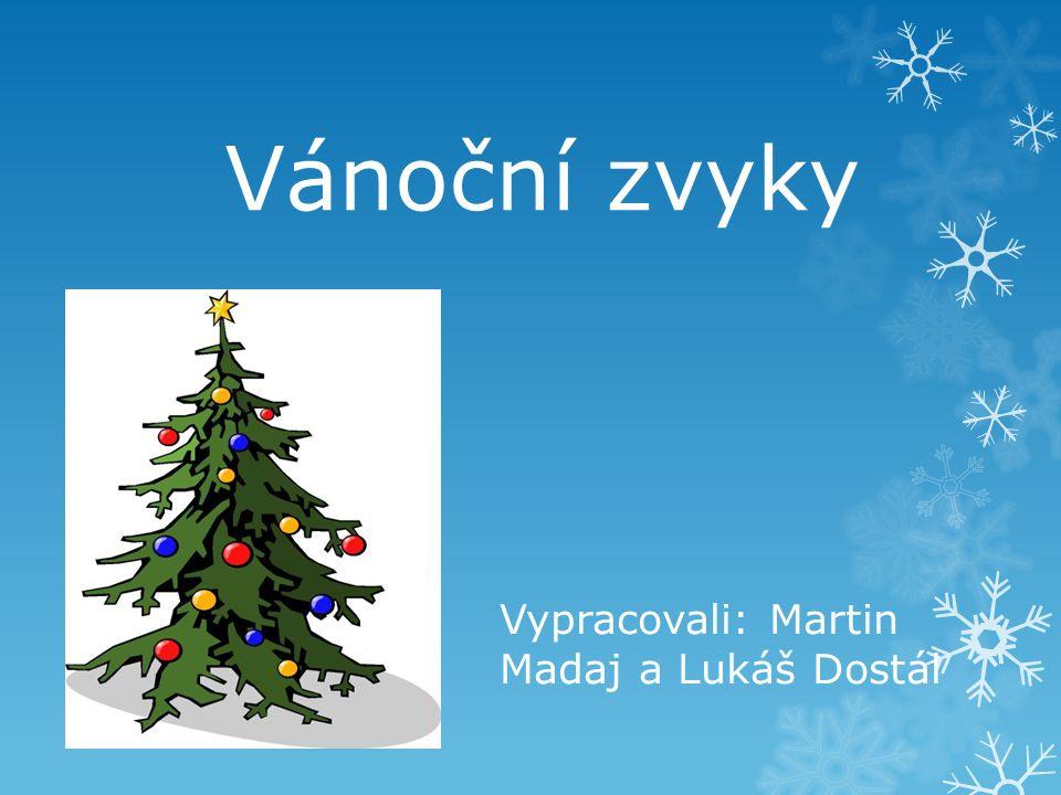 Vypracovali: Martin Madaj a Lukáš Dostál