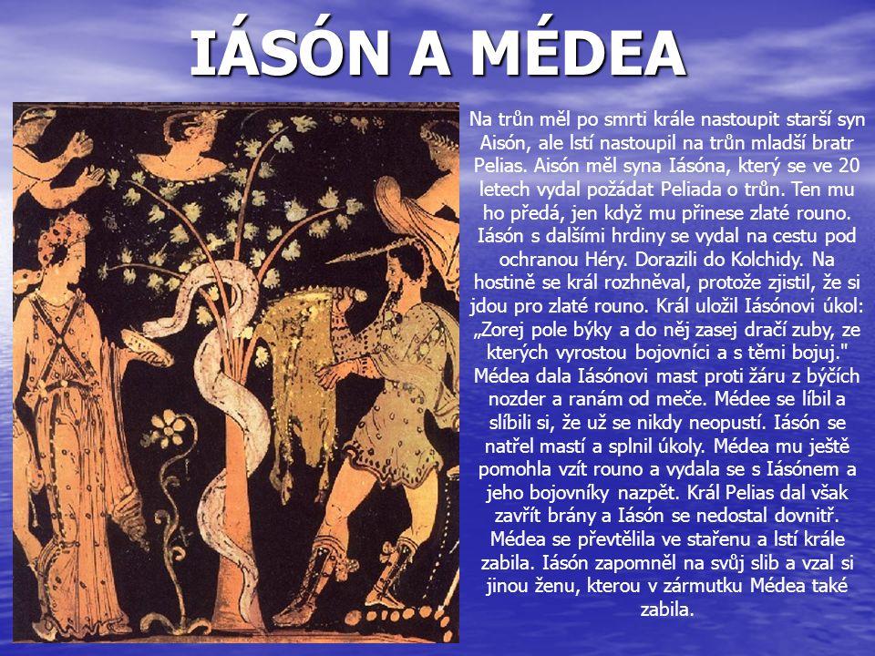 IÁSÓN A MÉDEA