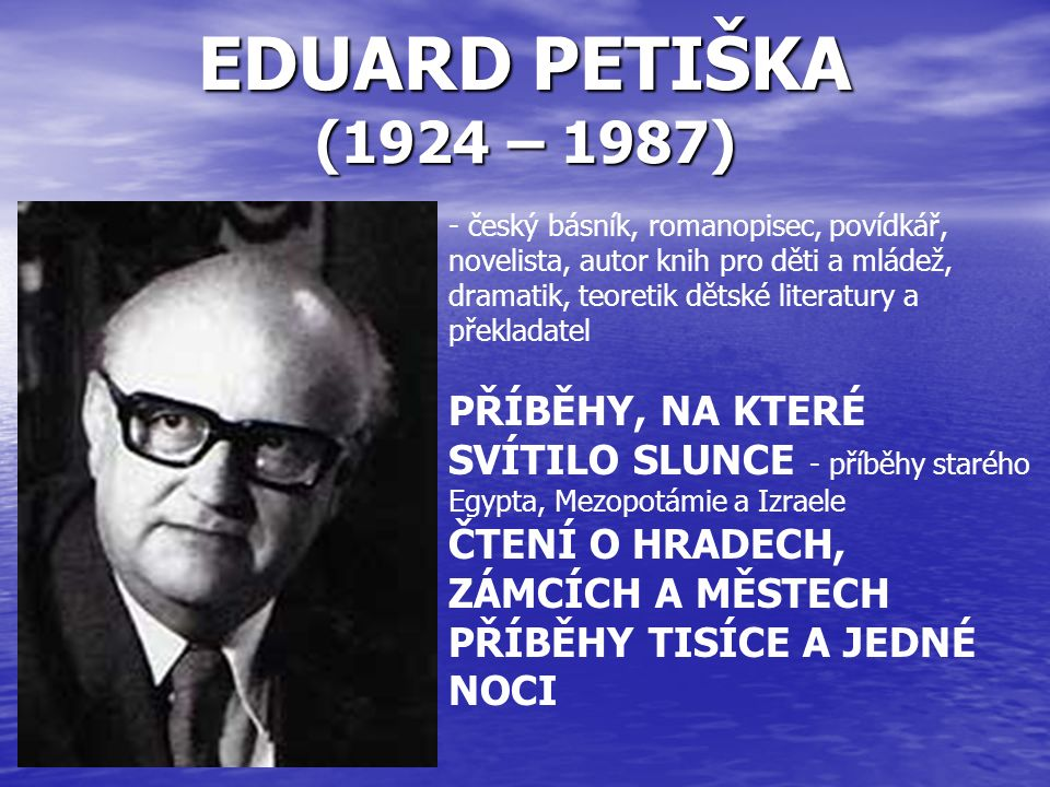 EDUARD PETIŠKA (1924 – 1987)