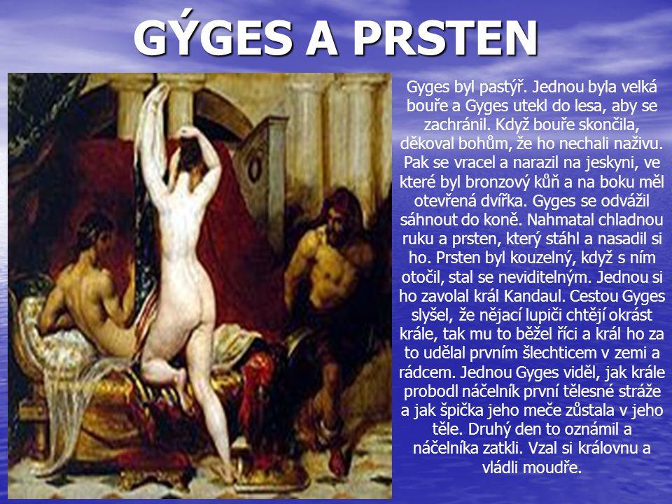 GÝGES A PRSTEN