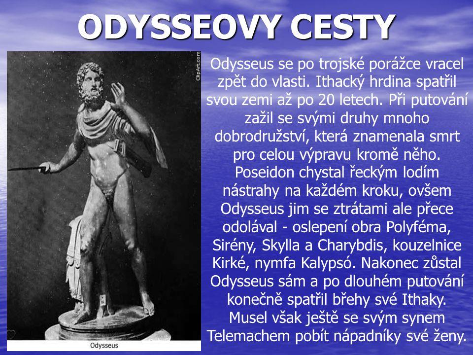 ODYSSEOVY CESTY