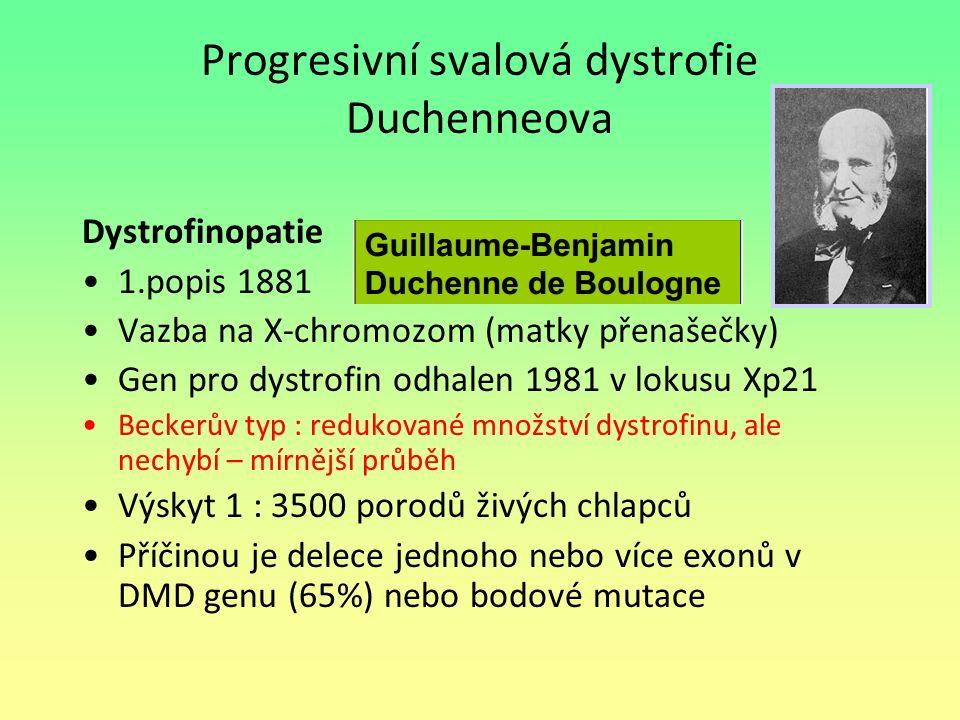 Progresivní svalová dystrofie Duchenneova