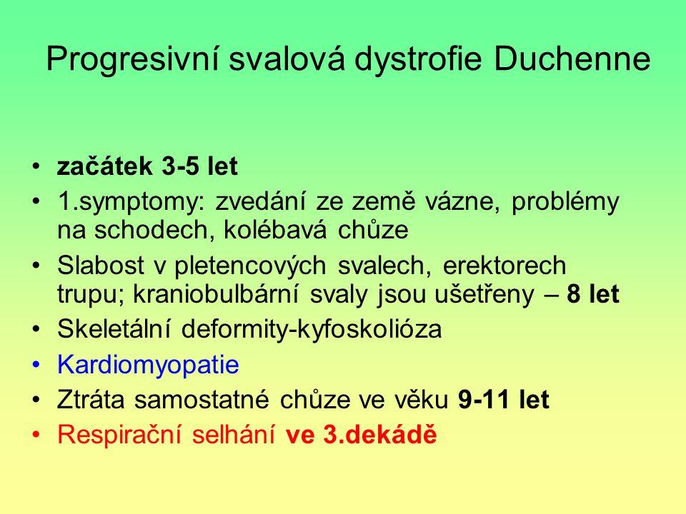 Progresivní svalová dystrofie Duchenne