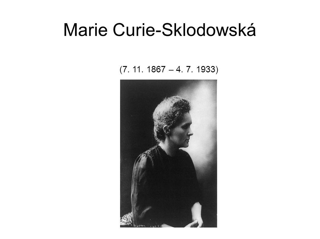 Marie Curie-Sklodowská