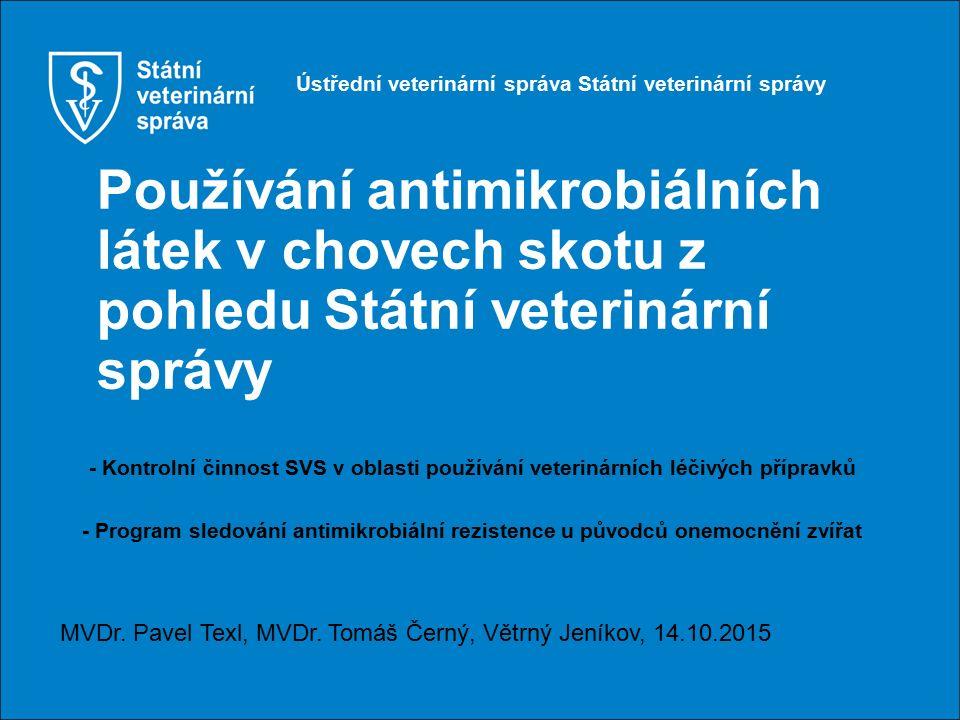 Ústřední veterinární správa Státní veterinární správy