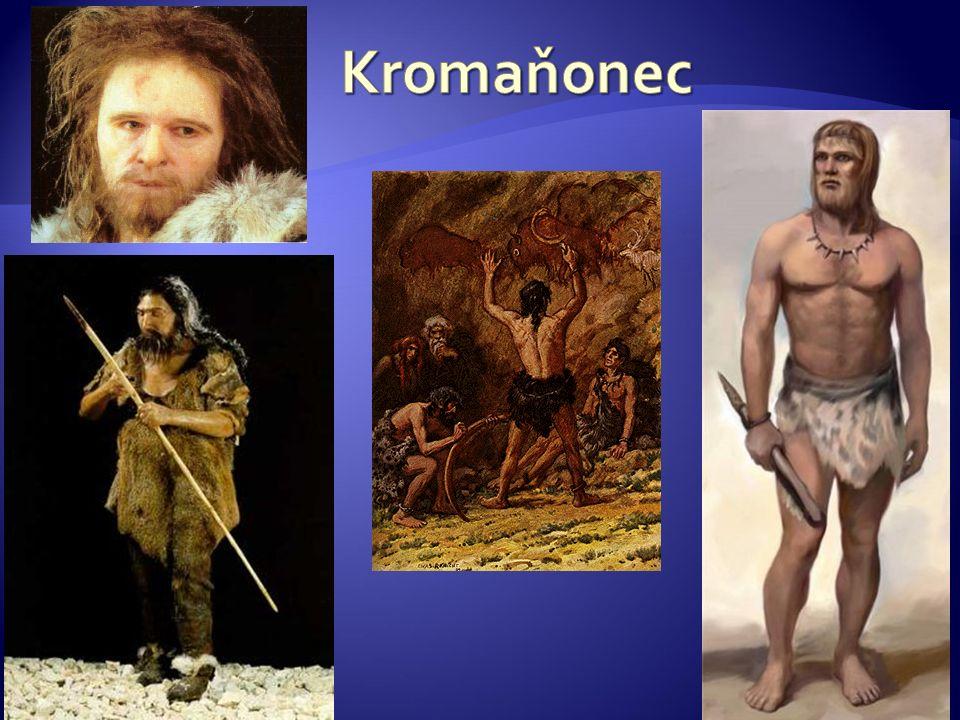 Kromaňonec