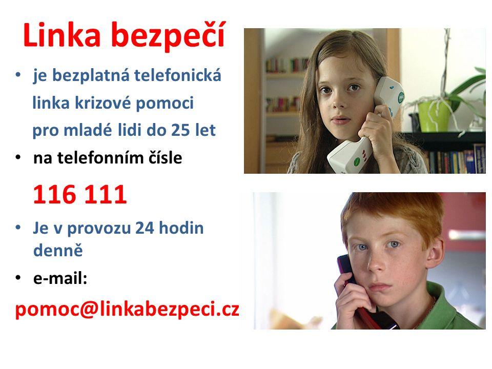 Linka bezpečí pomoc@linkabezpeci.cz je bezplatná telefonická