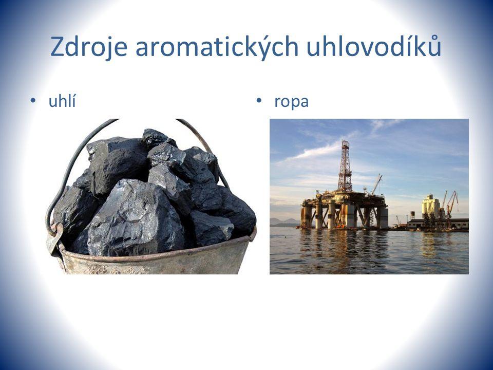 Zdroje aromatických uhlovodíků