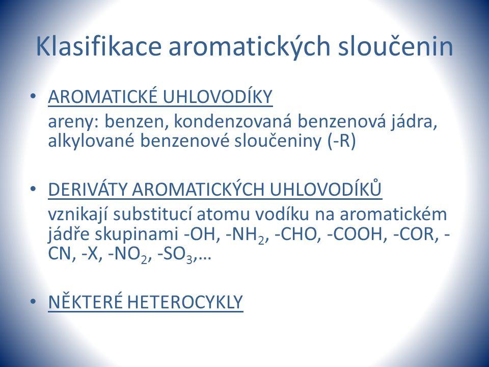 Klasifikace aromatických sloučenin
