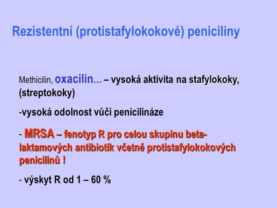 Rezistentní (protistafylokokové) peniciliny