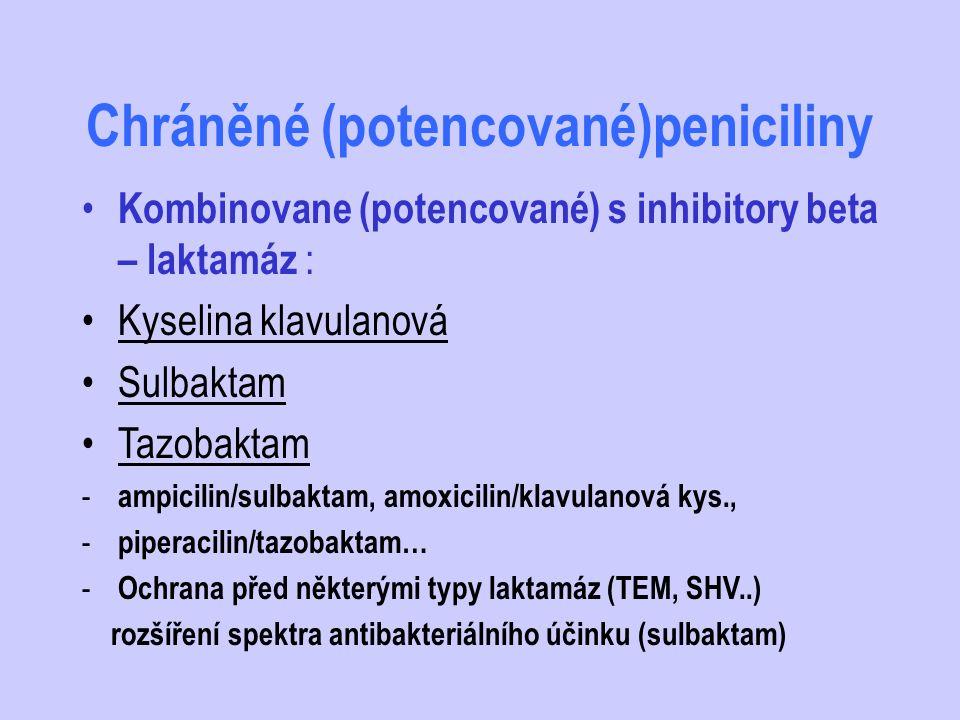 Chráněné (potencované)peniciliny