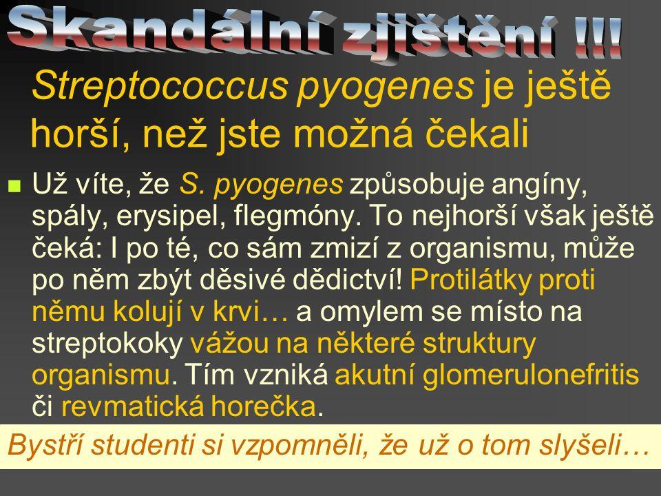 Streptococcus pyogenes je ještě horší, než jste možná čekali