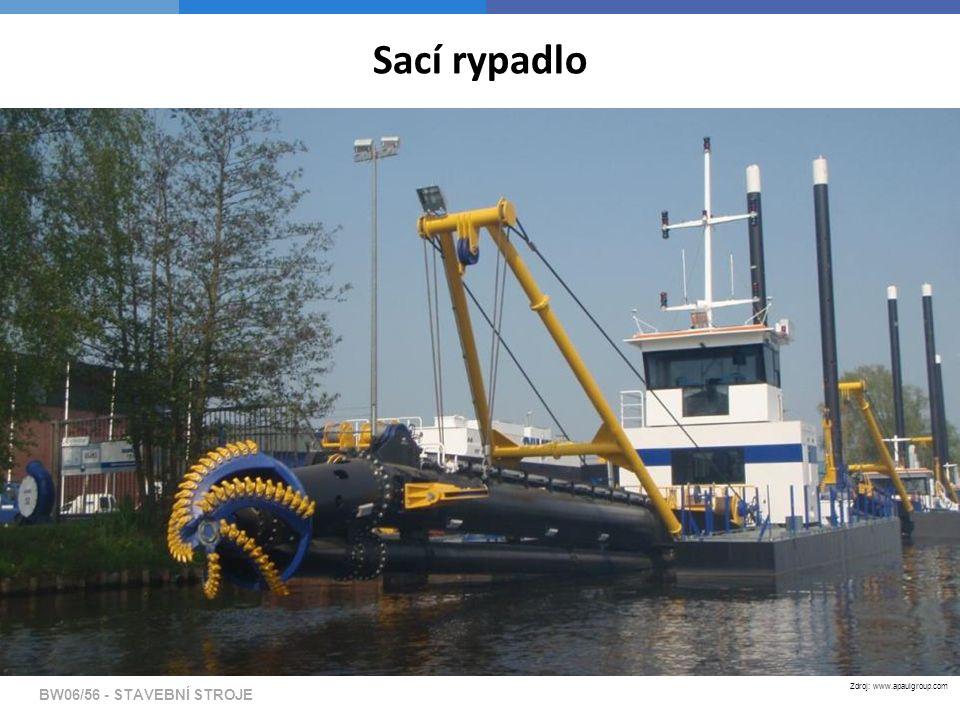 Sací rypadlo BW06/56 - STAVEBNÍ STROJE Zdroj: www.apaulgroup.com