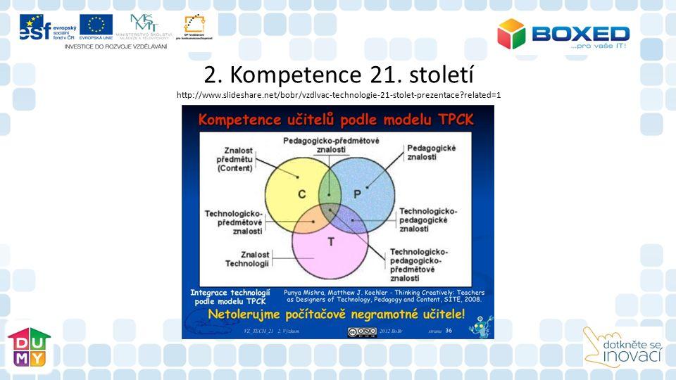 2. Kompetence 21. století http://www. slideshare