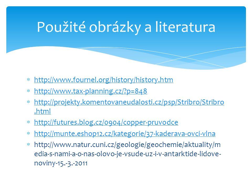 Použité obrázky a literatura