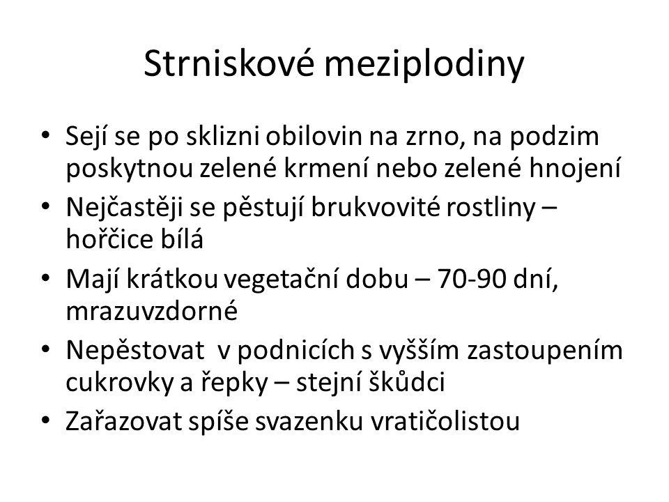 Strniskové meziplodiny